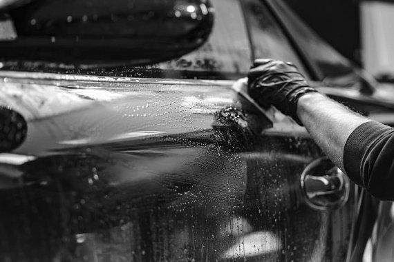 company Car keep clean