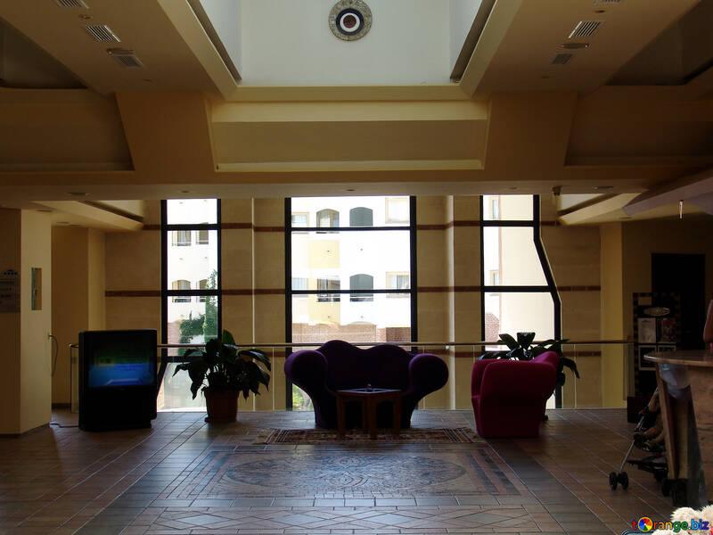 High window office home