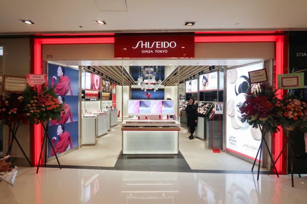 Shiseido store in hong kong