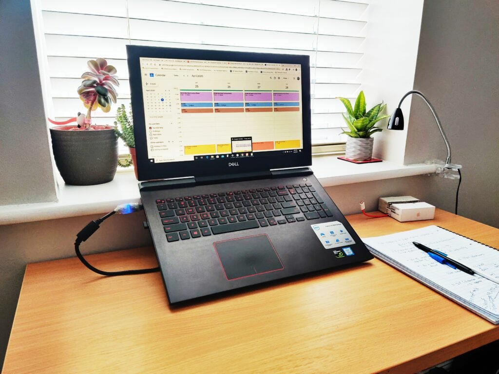 Adding greenery to desk