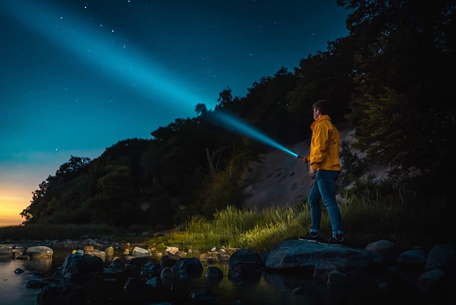 Flash light  adventure