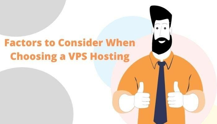 Factors to Consider When Choosing a Cheap VPS Hosting