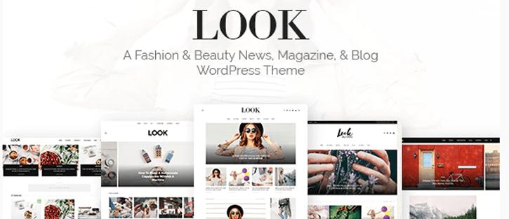 Look - Minimal Magazine and Blog WordPress Theme