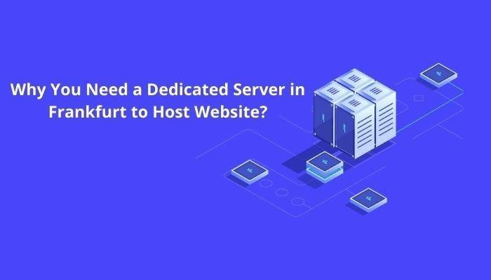 Need a Dedicated Server