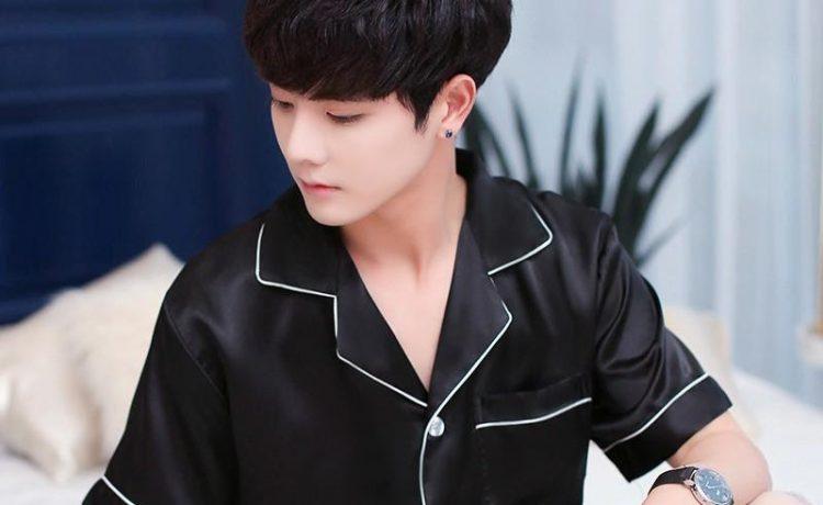 Men's Silk Night Wear