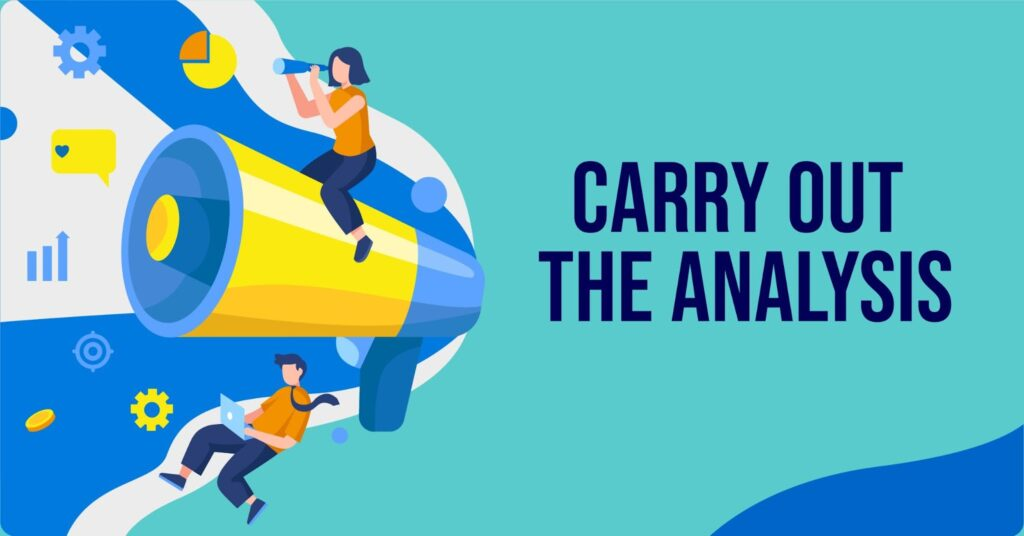 carry out the analytics