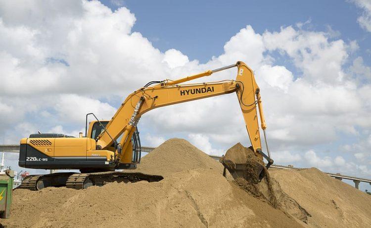 Excavator In Shape